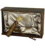 Wine opener - antique wine opener in gift box