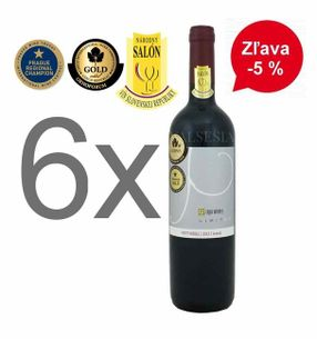 Action - 6 x Petit Merle - Limited 2013, Oaked, Quality wine, dry, 0,75 l