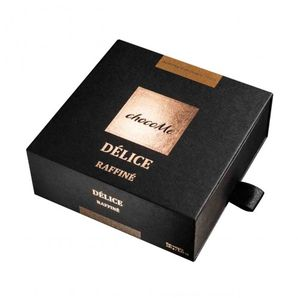 ChocoMe Délice Raffiné - Avola almond coated with hot 72.2% chocolate and cocoa powder, 120g