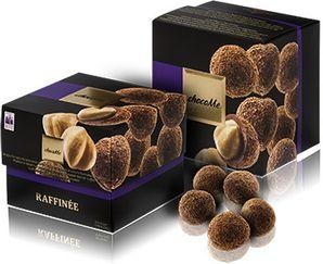 ChocoMe Raffinée - Piemonte peanuts covered with ground coffee Harrar of Ethiopia in nutmeg milk chocolate, 120g