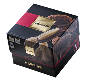 ChocoMe Raffinée Almond in dark chocolate with Madagascar and cocoa powder, 120g