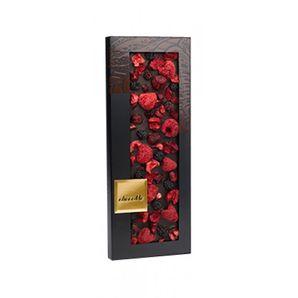 ChocoMe - Dark Chocolate Valrhona 66% blackberry, cherry, raspberry, 100g