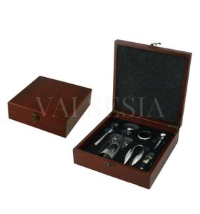 MAHAGON gift box with corkscrew and wine kit 5 devices