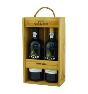 Gift package CÁLEM FINE Ruby / White, 2 x 0,75 l