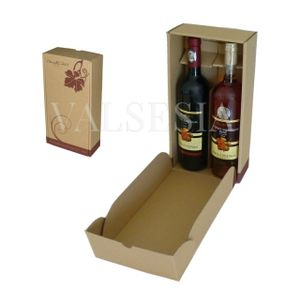 Gift carton Wine 2 x 0.75 with logo Mrva & Stanko