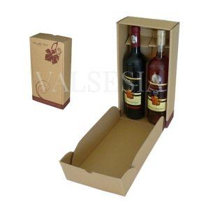 Gift carton Wine 2 x 0.75 with logo Mrva & Stanko