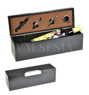 Gift packaging Wine Selection metal to 4 + 1 wine winemaking equipment