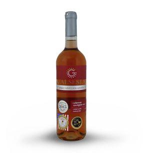 Cabernet Sauvignon Rosé, r. 2016 late harvest, dry, 0.75 l