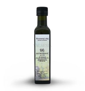 Grape seed oil 0.25 liters cold pressed