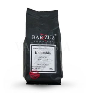 Colombia Supremo Scr. 17/18, coffee beans, 100% Arabica 250 g
