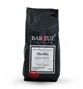 Mexico Altura Topacio, coffee beans, 100% Arabica 250 g