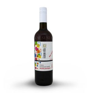 Blue Portugal - must, a 100% natural grape juice, 0.75 l