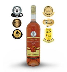 Cabernet Sauvignon rosé 2017, quality wine, dry, 0,75 l