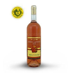 Cabernet Sauvignon Rosé - Mojmírovce 2016, quality wine, semi-dry, 0.75 l