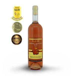 Cabernet Sauvignon Rosé - Vinodol 2016, quality wine, dry, 0.75 l