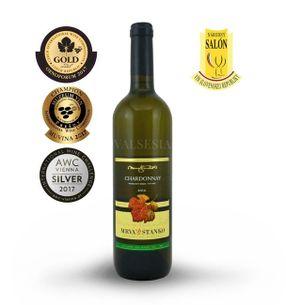 Chardonnay - Čachtice 2016 late harvest, dry, 0.75 l