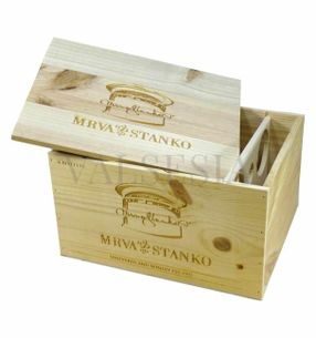 Gift packaging - wooden box Mrva & Stanko Exclusive6 x 0.75l