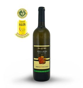 Pinot Blanc 2015, late harvest, dry, 0.75 l