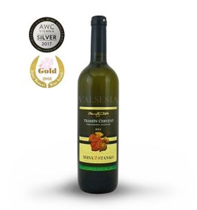 Gewurztraminer - Čachtice 2016, selection of grapes, semi-dry, 0.75 l