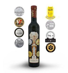 Yellow Muscat Saturnia 2015, straw wine, sweet, 0.375 l