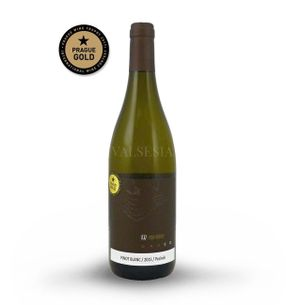 Pinot Blanc 2015 Oaked, quality wine, dry, 0.75 l
