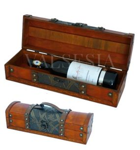 Rustic wine gift box F09