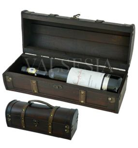 Rustic wine gift box F11