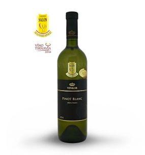 Pinot Blanc 2015 grape selection, semi-dry, 0.75 l