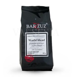 World blend, blend premium gourmet coffee, coffee beans, 100% Arabica 250 g