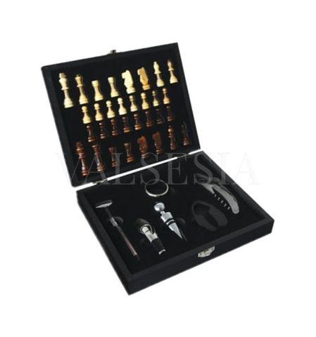Gift Box CHESS + 6 wine aids