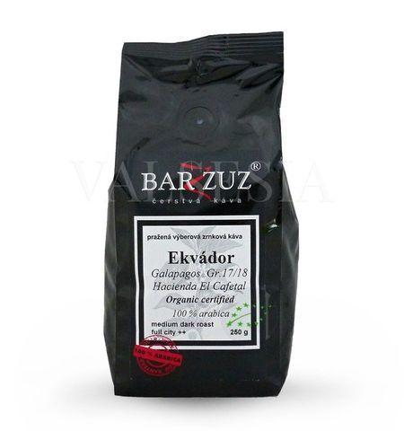 Ecuador Galapagos  Gr. 17/18, Hacienda El Cafetal, Organic certified, coffee beans, 100% Arabica 250 g