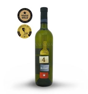 4 elements - white, r. 2015, selection of grapes, dry, 0,75 l