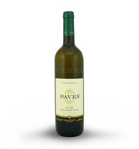 Paves white - cuvée 2015, quality branded wine, dry, 0.75 l