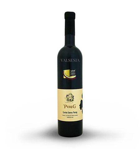 Cuvée black Pereg, branded wine, 0.75 l