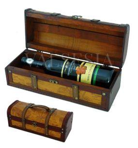 Rustic wine gift box F17