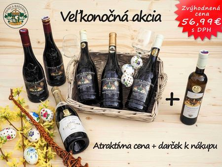 Easter stock package RADOSINA 6 + 1 gift for purchase